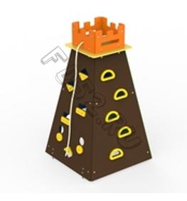 Башня для лазания с канатом