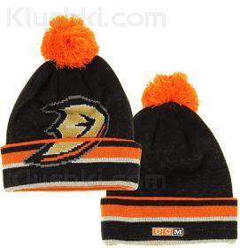 Шапка CCM Basic Cuffed Knit Hat NHL  Anaheim Ducks