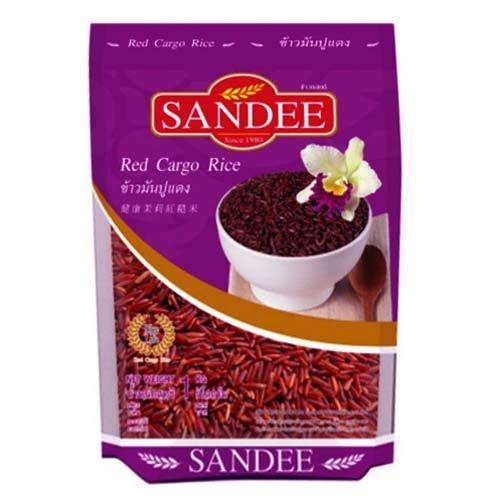 Рис жасмин красный нешлифованный 1 кг