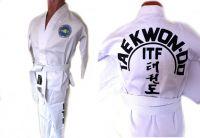 Кимоно для Тэквондо ITF, для тренировок в зале, размер 2/150