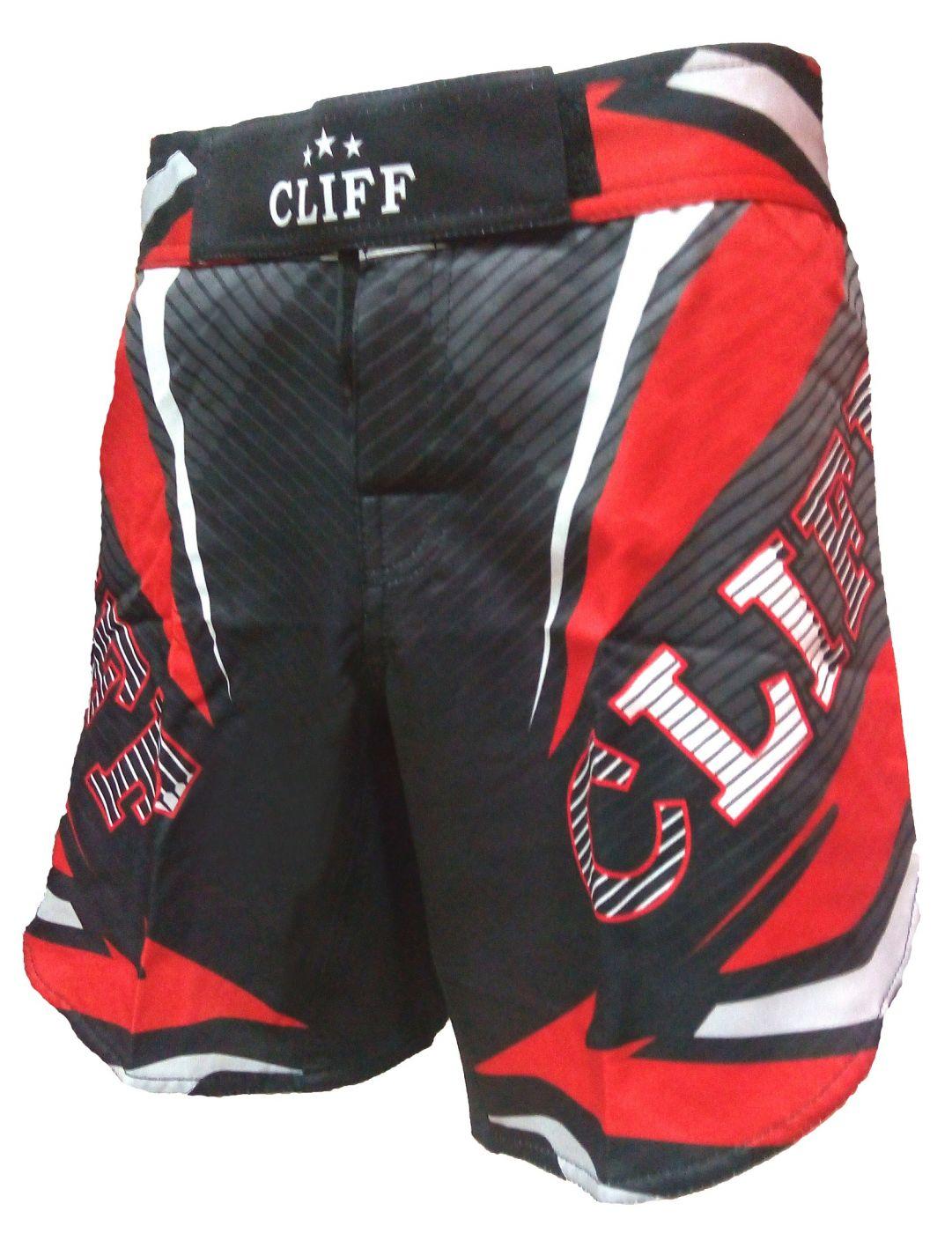 ШОРТЫ ММА CLIFF R3.0 RED FIGHTER, размер M