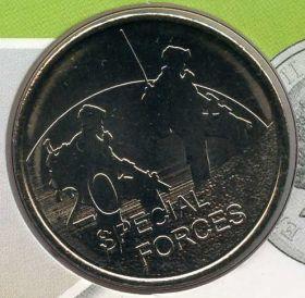Австралия 20 центов 2016
