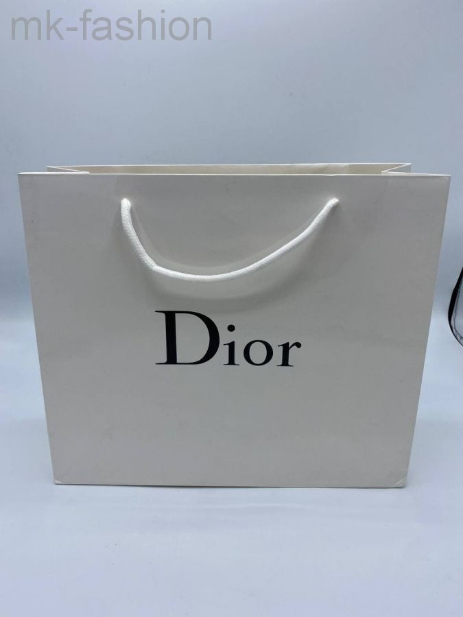 Фирменный пакет Dior 23 х 21cm