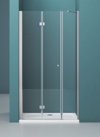 Душевая дверь BelBagno ALBANO-BS-13-30+80-C-Cr 110