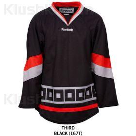 Майка (джерси) Carolina Hurricanes Reebok Edge Uncrested Adult Hockey Jersey (blk)