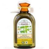 Масло для мытья и укрепления волос касторовое Зеленая Аптека 250 мл