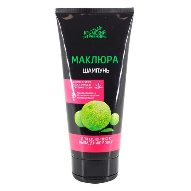 Шампунь для склонных к выпадению волос Маклюра Крымский Травник 200 мл