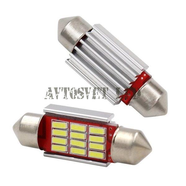 Светодиодная лампа освещения салона AS-12smd-41mm