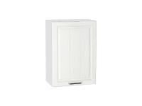 Шкаф верхний с 1-ой дверцей Прага В600-Ф46 в цвете Белое дерево