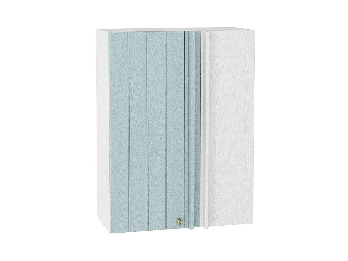 Шкаф верхний прямой угловой Прованс ВУ699 (голубой)