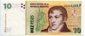 Аргентина 10 песо 2003