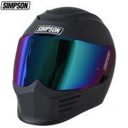 Шлем Simpson Speed, Матовый чёрный