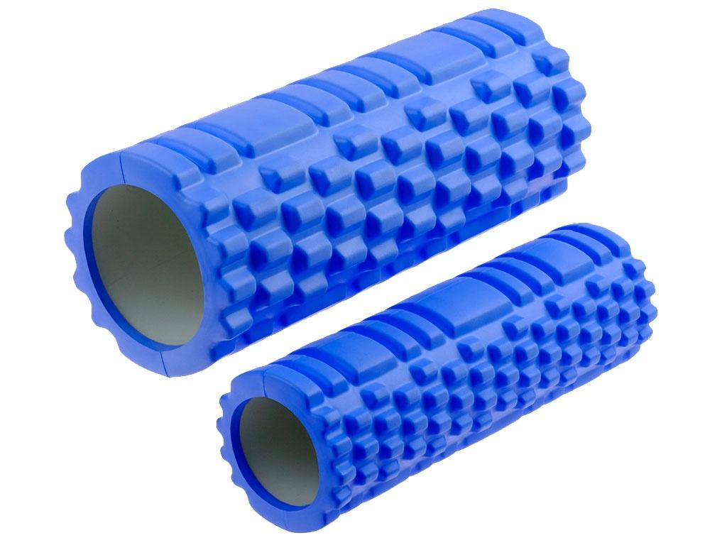 Валик-матрёшка для йоги полый жёсткий (Синий), артикул 29157