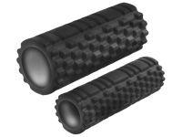 Валик-матрёшка для йоги полый жёсткий (Чёрный), артикул 29157