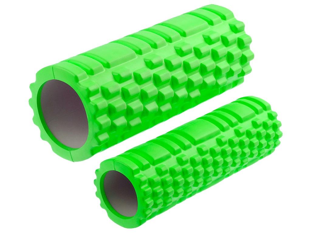 Валик-матрёшка для йоги полый жёсткий (Салатовый), артикул 29157