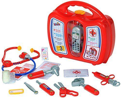 Набор доктора в кейсе с мобильным телефоном Klein 4350