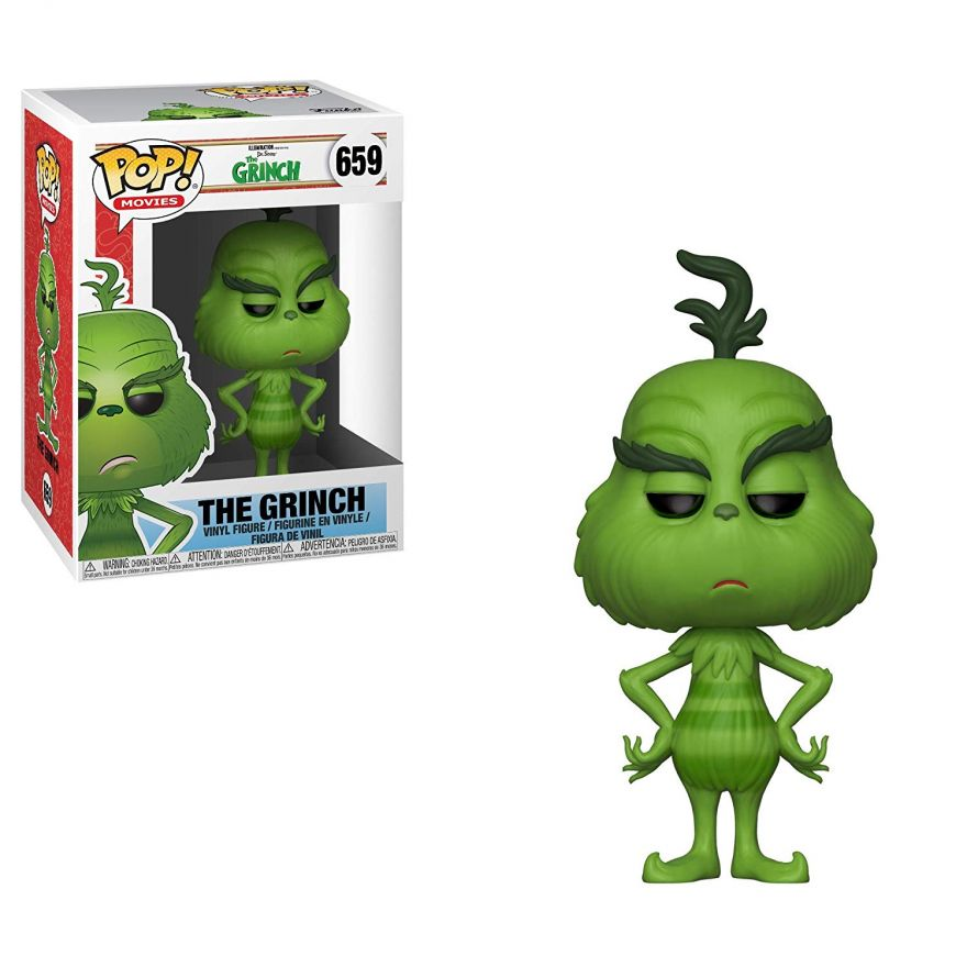 Фигурка Funko POP! Vinyl: The Grinch Movie: The Grinch 33023