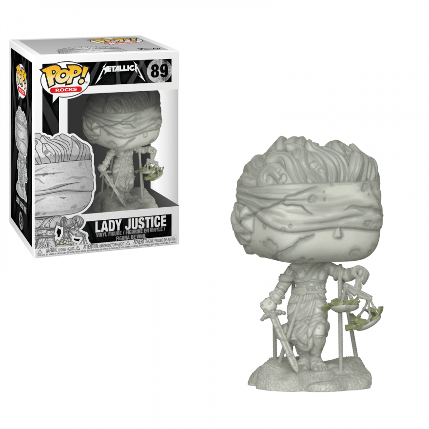 Фигурка Funko POP! Vinyl: Rocks: Metallica: Lady Justice 34888