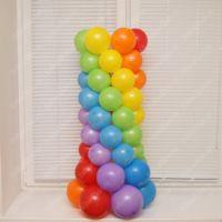 Тумба из шаров для фонтана 1 м