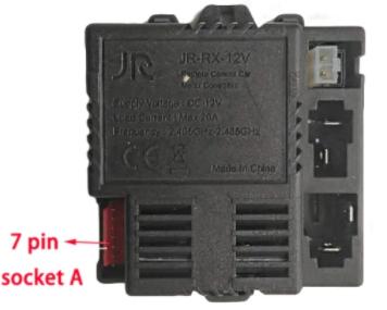 Блок управления для детского электромобиля JR-RX-12V A