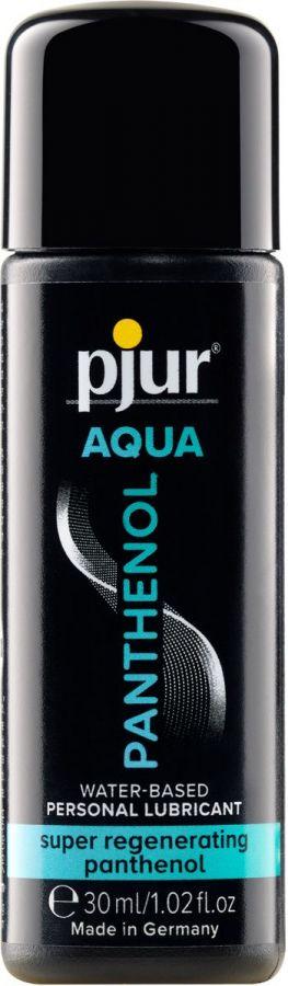 Лубрикант на водной основе с пантенолом pjur AQUA Panthenol - 30 мл.