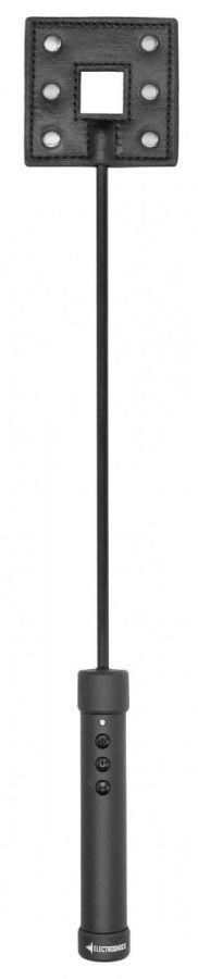 Черный стек E-stim Crop с электростимуляцией