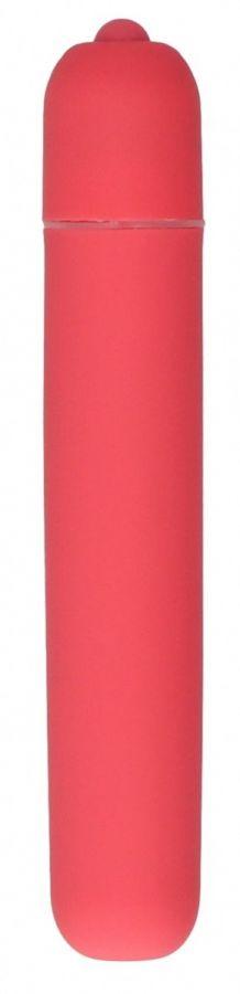 Розовая вибропуля Bullet Vibrator Extra Long - 10,5 см.
