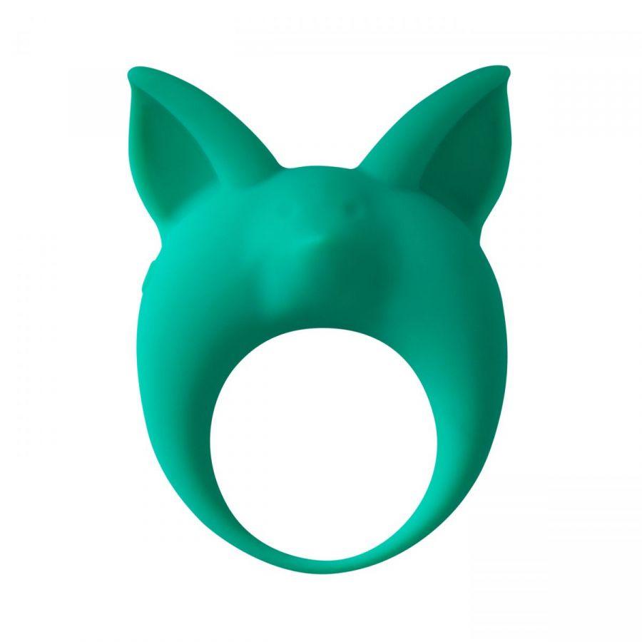 Зеленое эрекционное кольцо Kitten Kyle