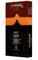 Презервативы с увеличенным количеством смазки DOMINO Classic Easy Entry - 6 шт.