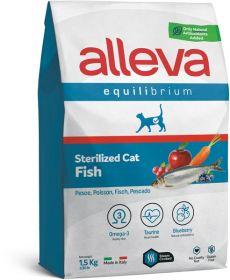 Alleva Equilibrium Sterilized Fish (Аллева Эквилибриум стерилайзд с рыбой) для кошек