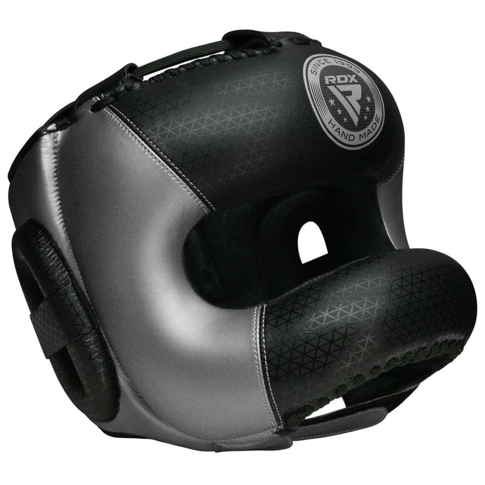 Боксерский шлем RDX MARK2 PRO - SILVER