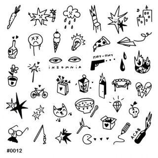 Слайдер-дизайн для ногтей № 0012