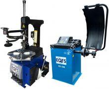 Комплект Станок шиномонтажный автомат ES24AC+HR360+Балансировочный стенд ES-500