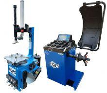 Комплект ES-3923A шиномонтажный станок + ES-650 автоматический балансировочный станок