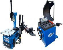 Комплект ES-3226A шиномонтажный станок автомат+ ES-600 Балансировочный станок автомат