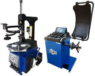 Комплект ES24AC+HR360 Станок шиномонтажный автомат+ES-650 Балансировочный стенд автоматический