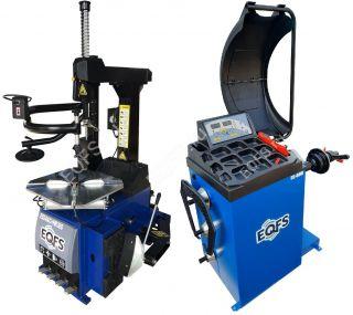 Комплект ES24AC+HR360 Станок шиномонтажный автомат + ES-600 Баланисровочный станок автомат
