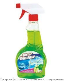 Master Window.Средство для стекол Зеленое яблоко 500г курок, шт
