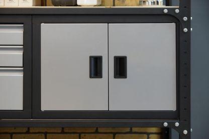 Модуль-шкаф с дверцами в стеллаж - STL-CB1