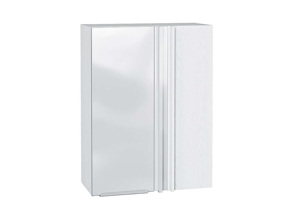 Шкаф верхний прямой угловой Фьюжн ВУ699 (Angel)