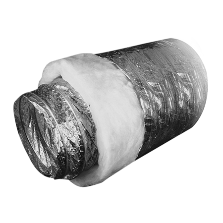 Воздуховод гибкий звукопоглощающий,  d315х10 м