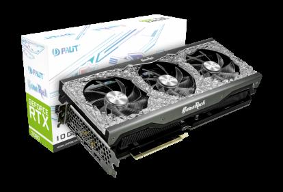 Видеокарта Palit GeForce RTX 3090 GameRock 24G