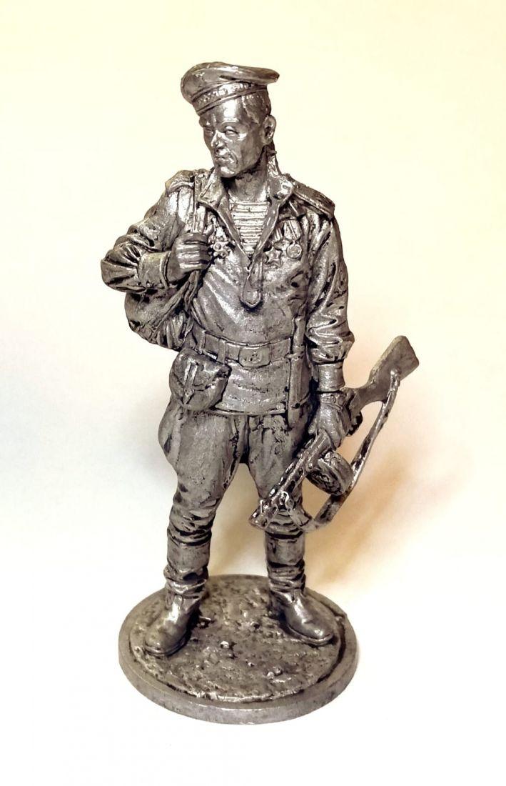 Фигурка Краснофлотец, морская пехота олово