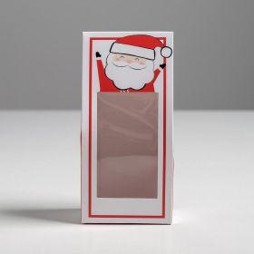 Коробка складная «Счастливого Нового года», 9 × 19 × 6 см