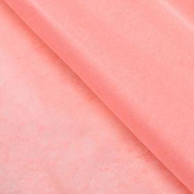 Бумага упаковочная тишью, розовый персиковый, 50 см х 66 см
