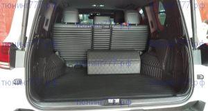Коврики в багажник, серия GT, кожа