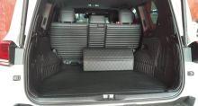 Коврики в багажник, серия GT, черная кожа