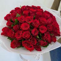 Акция: 51 красная роза Кения