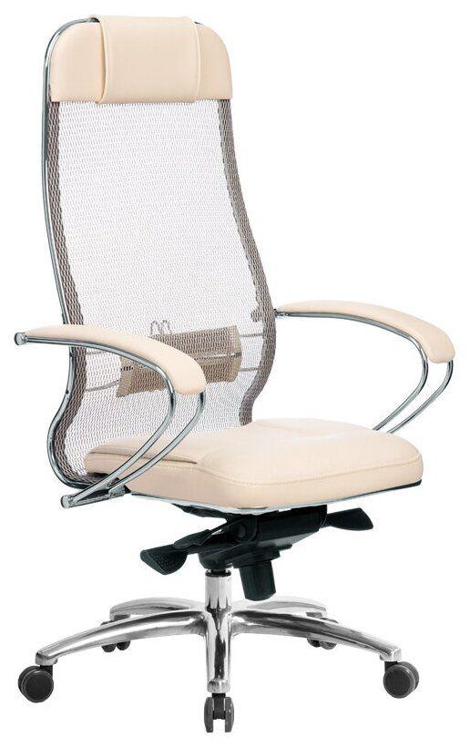 Компьютерное кресло Метта Samurai SL-1.04 Бежевое