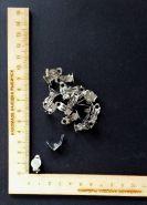 основа для клипс с площадкой диаметром 10 мм металл/серебро  КОМПЛЕКТАЦИЯ НА ВЫБОР